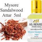 Al-Mahir Mysore Sandalwood Attar 5ml For Unisex - Pure Natural 5 ml