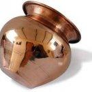 Expressionss Copper Kalash Tamba Tambey Ka Lota Copper Kalash  (Brown)
