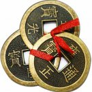 Zhunmun Feng Shui Chinese Lucky Fortune Copper  Showpiece 2.5 cm(Copper, Brown)