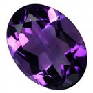 7.9 Ratti Natural Amethyst stone superior quality By GII