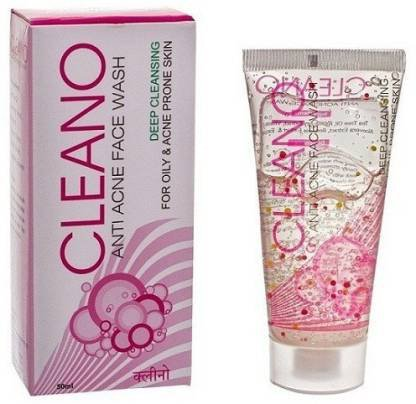 CLEANO Anti Acne Face Wash  (50 ml)