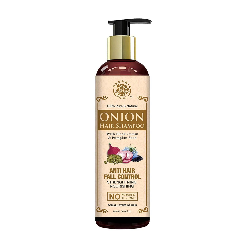 Organic Shine Onion Hair Shampoo  200 ml