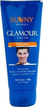 Sunny Herbals Glamour Cream for Men  (100 g)