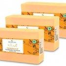 Dr Vegan Handmade Sandalwood Soap (pack of 3)  (3 x 125 g)