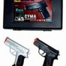 2 Airsoft Guns w/ Case