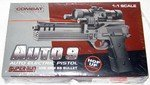 """12"""" Electric Pistol w/ Laser and Light"""