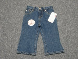 NEW Infant Girl's LEVI'S Jeans ~ 18 Months ~ FREE SHIPPING