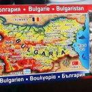 Fridge Magnet handmade Map of Bulgaria Souvenir