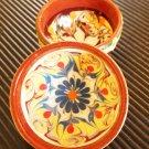 Decorative ceramic bows handmade Gift Holidays 2 set