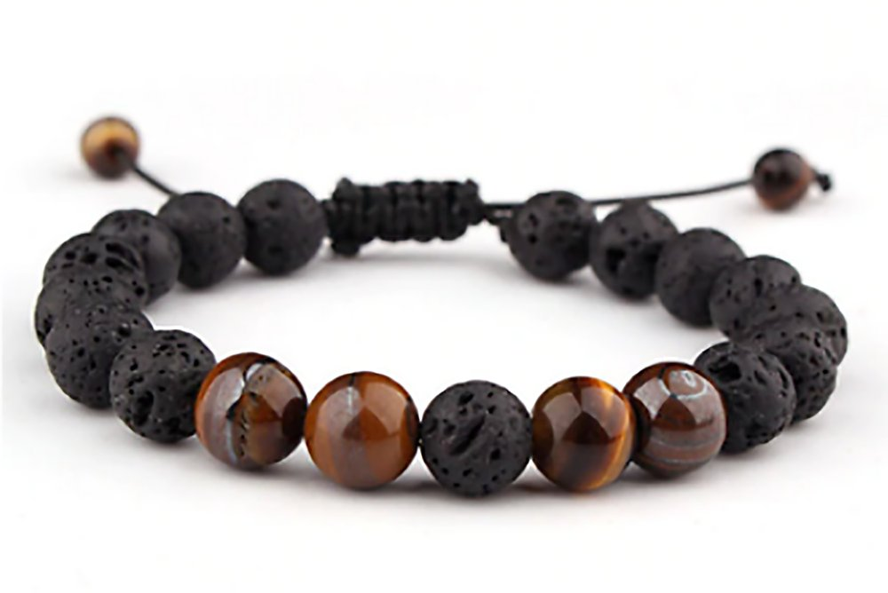 Unisex Fashion Style wooden beads adjustable Bracelet Wristband
