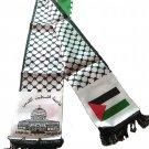 Unisex Palestine Satin Scarf Arabian Fashion