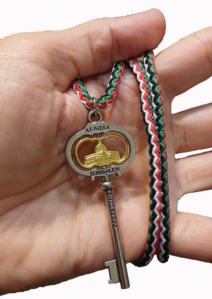 Palestine Return key design necklace Jerusalem Palestine