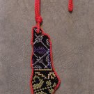 Palestine Fancy Handmade embroidered colored Car Wall Hanging Map 13.5 * 4.5 cm