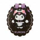 Kuromi Mascot Brooch Tsun (Tsundere Cafe) Sanrio Japan Official Goods Tracking #