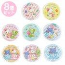Wish Me Mell Secret Tin Badge 8 Complete Set Amusement Park Sanrio Puroland Cute