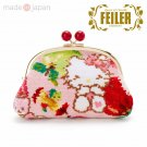 Hello Kitty Feiler Purse Pouch (Apple) Sanrio Japan Official Goods w/Tracking #