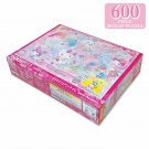 Sanrio Sanrio Characters Jigsaw Puzzle Glitter Fairy Tail 600pc Japanese Official Kawaii Goods