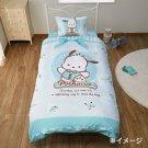 Sanrio Pochacco Bedding Cover 3pcs Set Sanrio Official Japanese Official Kawaii Goods