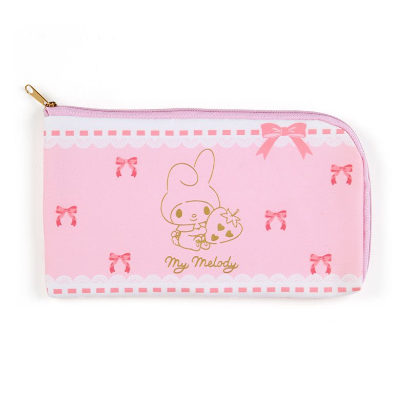 My Melody Mini Mask Pouch (Ribbon) Sanrio Japan Official Goods