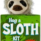 Hug a Sloth Kit (book with plush) Paperback  by Talia Levy