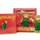 Corduroy book with Plush Bear Don Freeman Hardcover