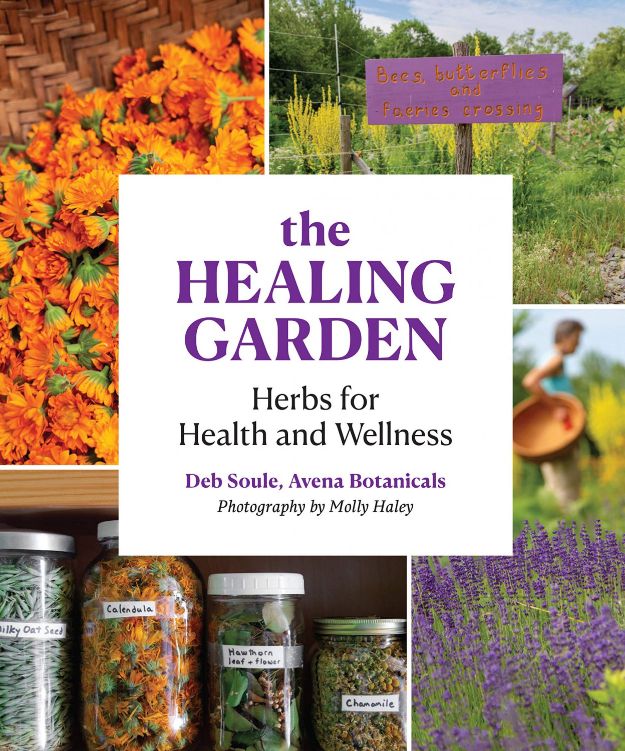 The Healing Garden: Herbs for Health and Wellness Paperback