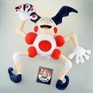 """Soft Doll Mr Mr. Mime 17"""" Plush Clown Stuffed Toy Cartoon - Joker stuffed toys - Stuffed Animal"""