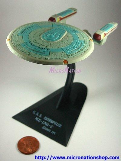 Furuta Star Trek Vol. 2 Mini USS Enterprise NCC-1701-C