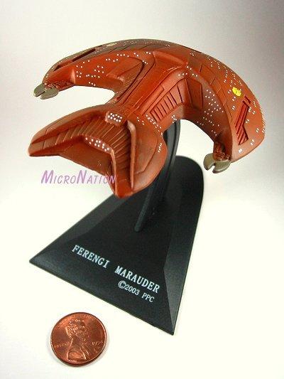 Furuta Star Trek Vol. 2 Miniature Ferengi Marauder