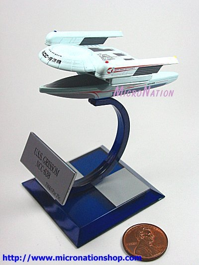 Furuta Star Trek Vol. 3 A3 Mini U.S.S. Grissom NCC-638