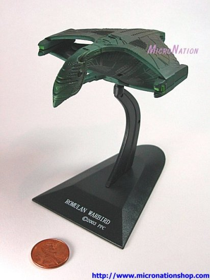 Furuta Star Trek Vol. 1 Romulan Warbird (Rare Secret Item)