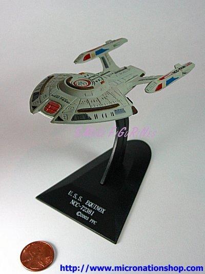 Furuta Star Trek Vol. 1 USS Equinox NCC-72381