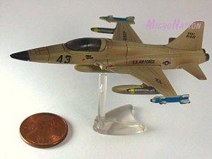 Furuta War Planes Miniature Model #23 Northrop F-5E Tiger II