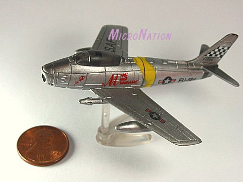 Furuta War Planes Miniature Model #26 North American Aviation F-86 Sabre