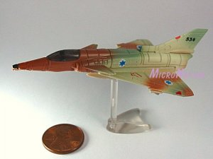 Furuta War Planes Miniature Model #29 IAI Kfir