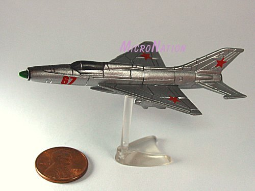 Furuta War Planes Miniature Model #30 Mikoyan-Gurevich MiG-21PF