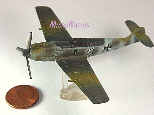 Furuta War Planes Miniature Model #35 Messerschmitt BF109E