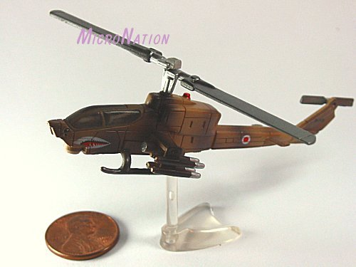 Furuta War Planes Miniature Model #40 AH-1 Cobra