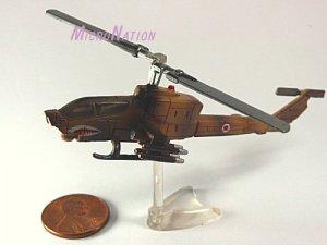 Furuta War Planes Miniature Model #40 AH-1 Cobra