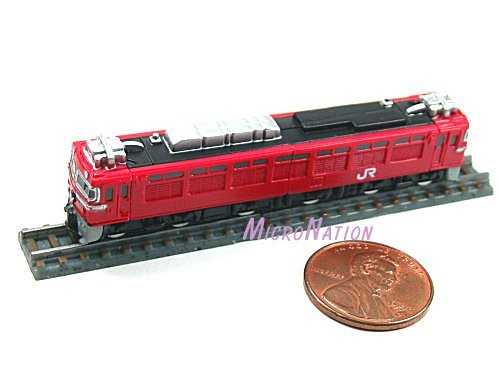 Furuta Choco Egg Series SL Train Vol. 1 Miniature Model #18 1:290 EF81 Series Akebono