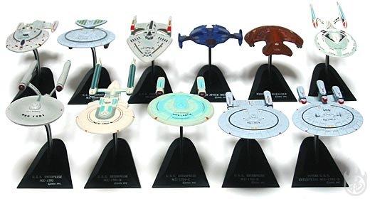 Furuta Star Trek Vol. 2 Complete Set of 11 Miniatures