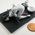#BW03 Eropon Adult Figure Collection 2 Sexy SM Bondage Miniature Figure Black & White Version