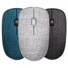 Rapoo M200G Plus Wireless Fabric Mouse bluetooth 3.0/4.0/2.4Ghz 1300DPI Home Office Mute Mouse Porta