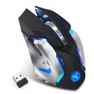 HXSJ M10 Wireless 2.4GHz Gaming Mouse Ergonomic Colors Backlight Gaming Mouse 2400DPI Mice