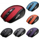 800-1200-1600DPI Wireless Rechargeable 6 Buttons Optical Gaming Mouse