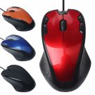 1000 DPI Optical Gaming Mouse Mice USB Wired For PC Computer Laptop Desktop