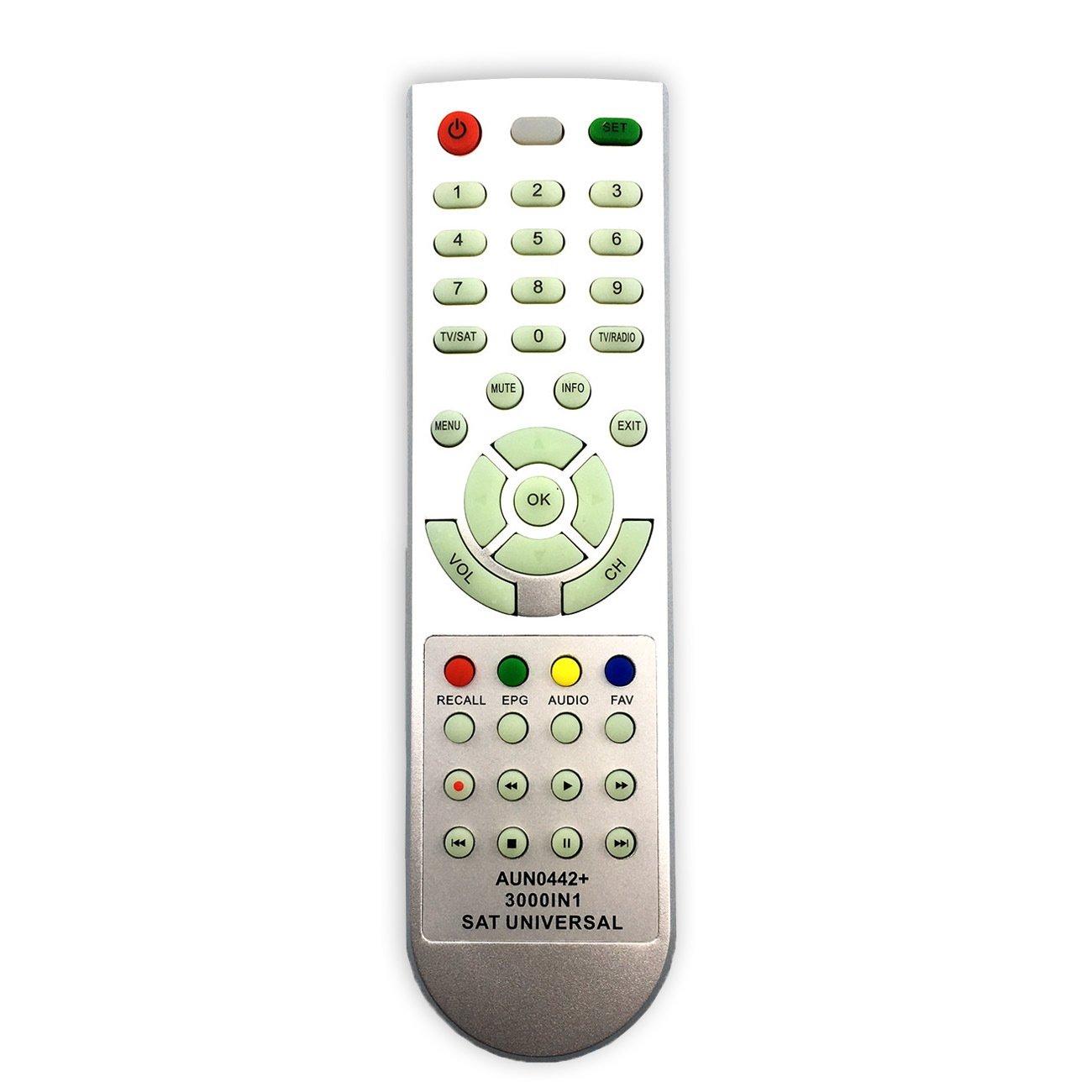 Universal Satellite TV Remote Control AUN0442 for Middle East Satellite TV