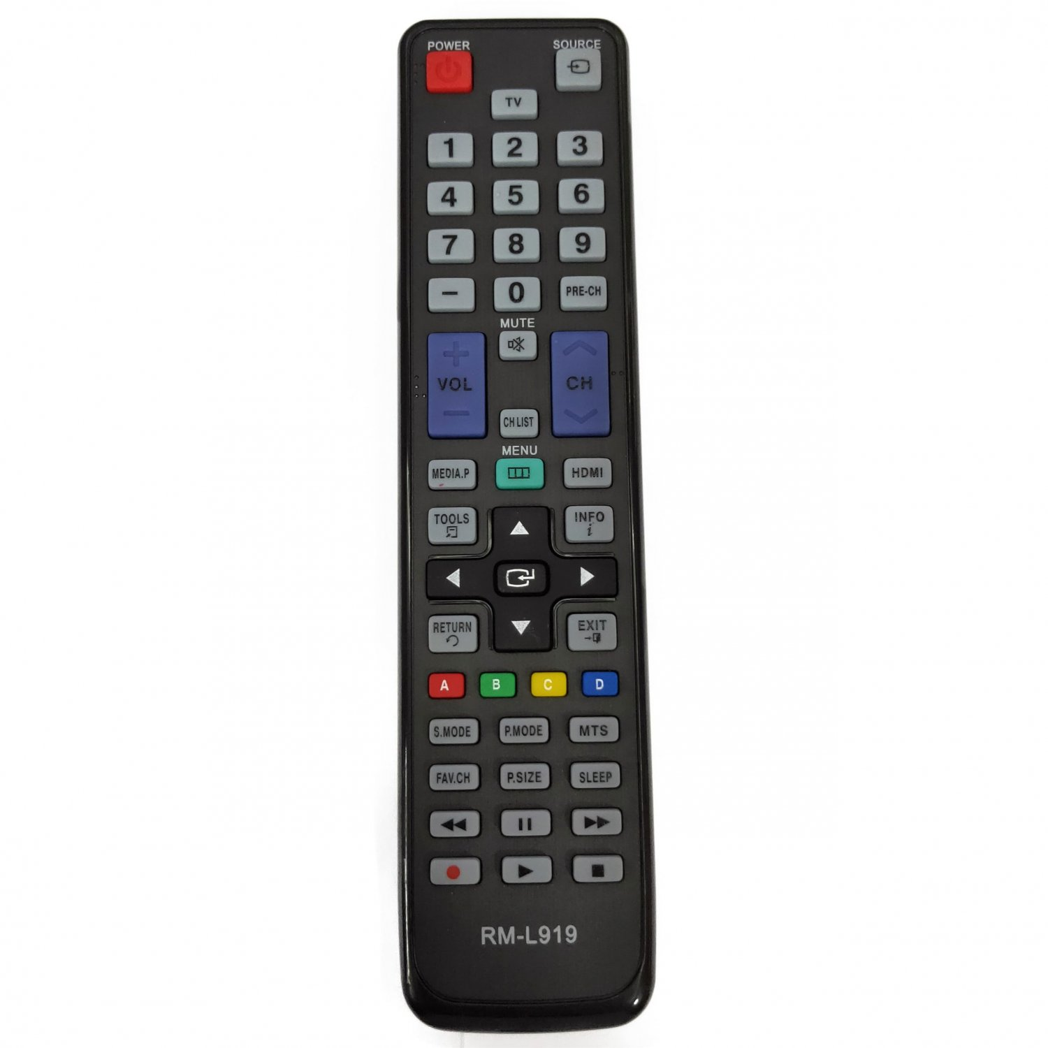 RM-L919 Replacement Remote Control For Samsung LED LCD TV HDTV