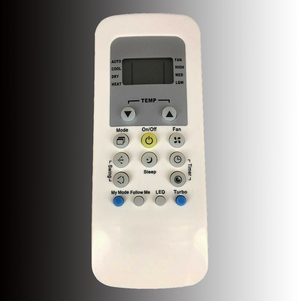 RG56N/BGEF Replacement Remote Control For Carrier Toshiba Midea Air Conditioner A/C