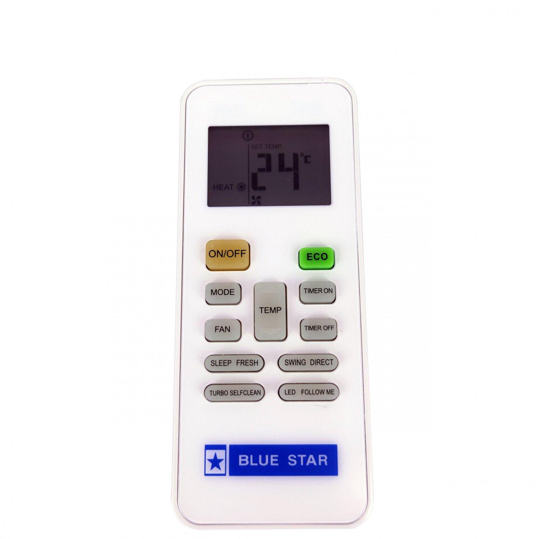 Used Original RG52E2/BGEF Remote Control For Midea BLUE STAR Air Conditioner